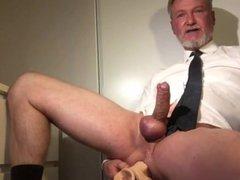 Hot Daddy vidz Jerking And  super Fucking Him Self