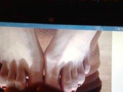 Sexy feet vidz tribute# 4  super Bianca's sexy feet