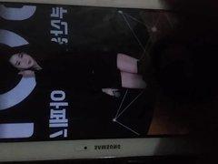 Apink Chorong's vidz legs cum  super (tribute)