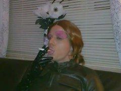 Fetish Crossdresser vidz Smoking