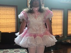 Crossdressing Sissy vidz Maid Turned  super Into A Cuckold Sissy