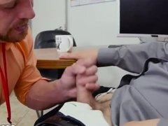 Gym gay vidz mens blowjob  super movie First day at work