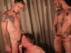 Nate Stetson vidz swallows father  super and son loads