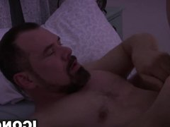 Big dick vidz DILF Max  super Sargent working on Troy Accolas asshole