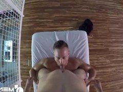 MenPOV Massage vidz fuck with  super hunks Aston Springs and Justin Beal