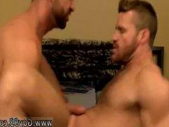 Older gay vidz men eating  super ass and sucking cock