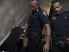 Cops and vidz young boys  super gay porn Suspect on the