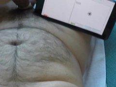 Jerking Big vidz Uncut Foreskin  super Cock CumShot HD Gopro