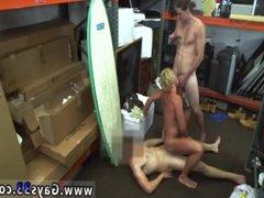 Straight gay vidz man paid  super to wank xxx Blonde