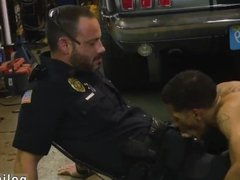 Gay cops vidz getting sucked  super off and naked porn