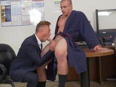 Muscled straight vidz men masturbation  super gay We