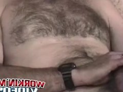 Crazy old vidz bastard loves  super playing with his hairy cock solo