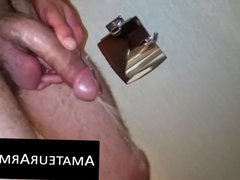 Big dicked vidz hairy dude  super loves jerking off his rock hard prick