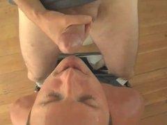 Licks Own vidz Load off  super of Spent Dick