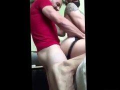 Cum in vidz his ass