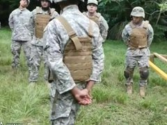 Young army vidz boys gay  super sex first time Jungle