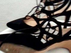 cum on vidz her sexy  super heels