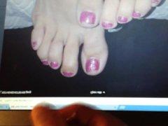 Sexy feet vidz tribute #  super 6 Marie's feet