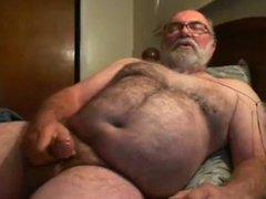 grandpa jim vidz cum on  super webcam