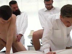 Gay sex vidz is small  super boy Elders Garrett and