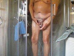 Me showering, vidz peeing &  super washing my little willy