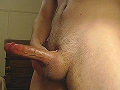 hot young vidz jock strokes  super Big Cock to Cumshot - solo male dick