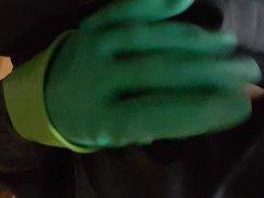 Gummiboy im vidz Reingummianzug auf  super Gummisitzring