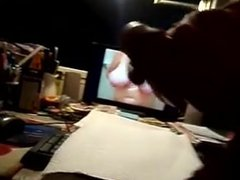 Curved small vidz thick penis  super tribute jacking off to Mrs3ok