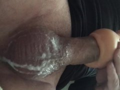 Deep throat vidz toy big  super cock blowjob cum shot