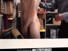 YoungPerps - vidz Bearded daddy  super mall cop fucks straight boy shopl