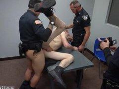 Police gay vidz man dick  super movieture xxx cops men