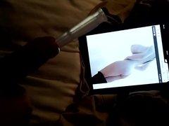 Cumming through vidz silicone urethral  super sound
