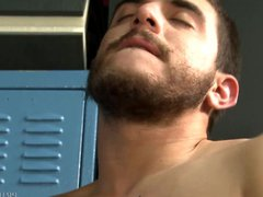 Juan Carlos vidz Spots Huge  super Fucking Cock in Locker Room