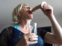 Naughty Gigi vidz - Wet  super and messy deep throat