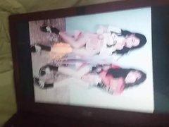 Apink Eunji vidz & Namjoo  super cum in miniskirt (tribute)