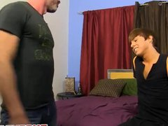 Attractive twink vidz Kyler Moss  super takes it doggy and missionary