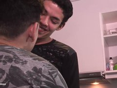 Latin Twinks vidz Evan and  super Kaleb Barebacking