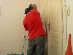 Male office vidz spanking gay  super Spanked Into