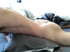 Bed and vidz pillow humping  super jerk off cum
