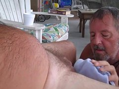 Daddy bear vidz sucks cock  super 4