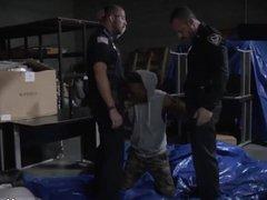 Cop fucks vidz boy and  super police gay cock Breaking
