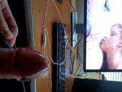 Nice cumshot vidz watching porn  super with vibrating toy