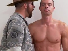 Hot military vidz gay men  super huge cock sex movie