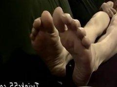 Big gay vidz licking armpit  super foot Straight boy