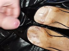 Cumming on vidz the patent  super works heels for other wife again