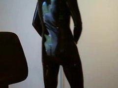 Latex catsuit vidz - feeling  super good
