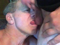 Cocksucking Faggot vidz Calls himself  super a One Man Blow Band!