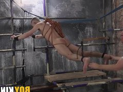 Kinky older vidz guy dominates  super over submissive young homo