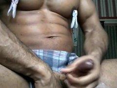 Dirty talk vidz shoot load  super attractive black athletic bodybuilder