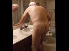 Bathroom Cleaning vidz in the  super Nude